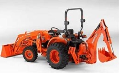Rental store for Kubota Tractor w backhoe in Portland OR