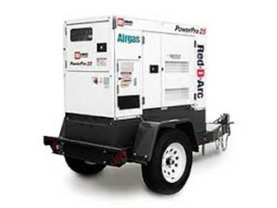 Generator rentals in the Portland OR Metro area